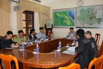 Triển khai khảo sát hang động  tại VQG Phong Nha – Kẻ Bàng